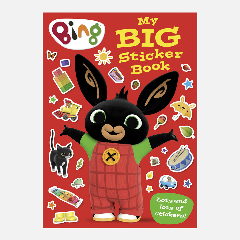 Bing's Big Sticker Book