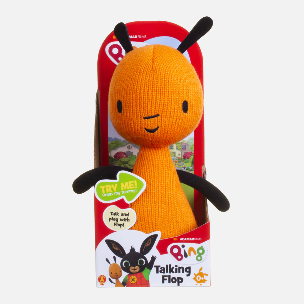 Talking Flop Soft Toy