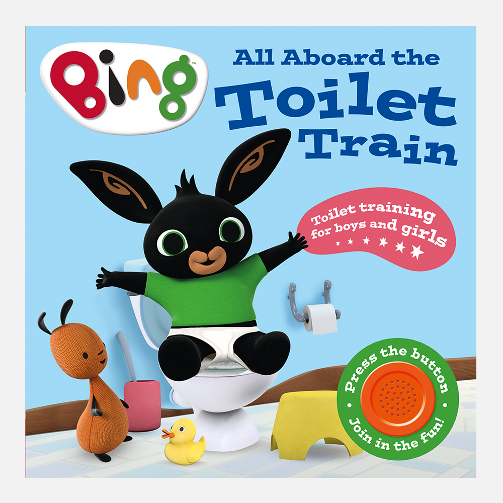 Bing All Aboard The Toilet Train Book