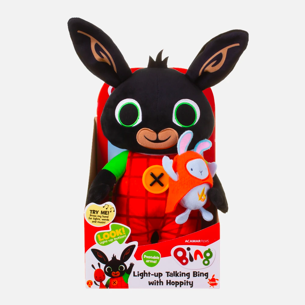 Light-up Talking Bing & Hoppity Toy