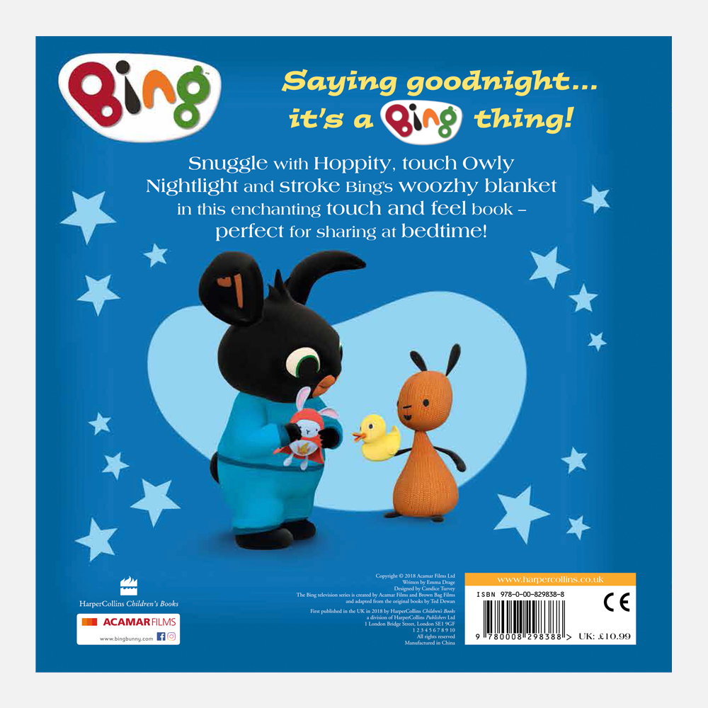 Goodnight Bing Book