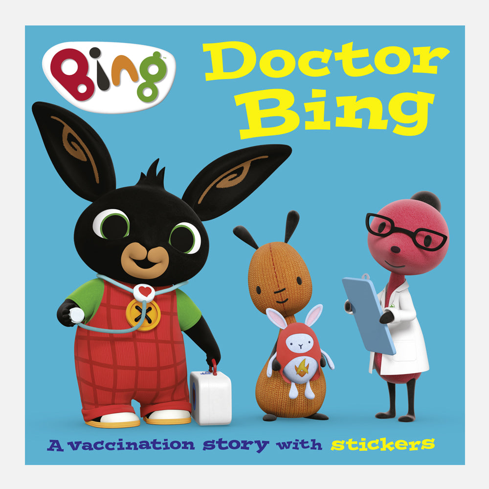 Doctor Bing A Vaccination Story Book With Stickers