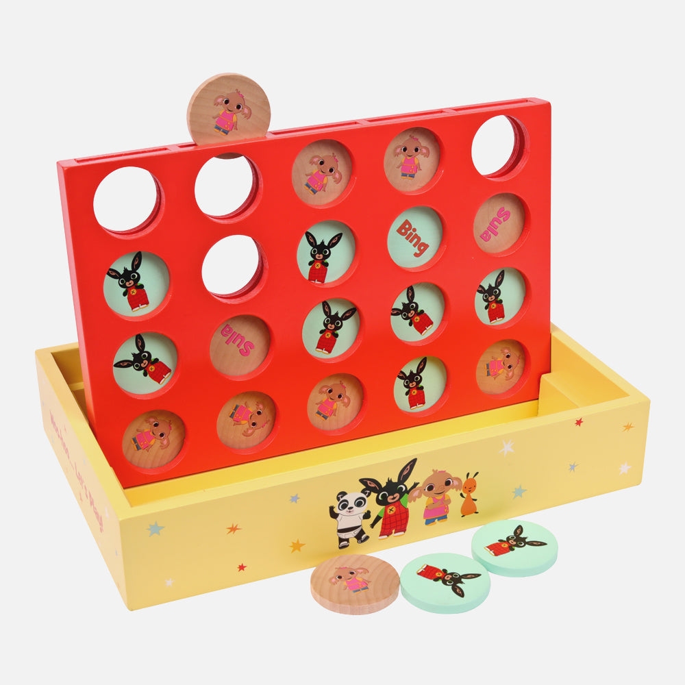 Bing Wooden Match 4 Game