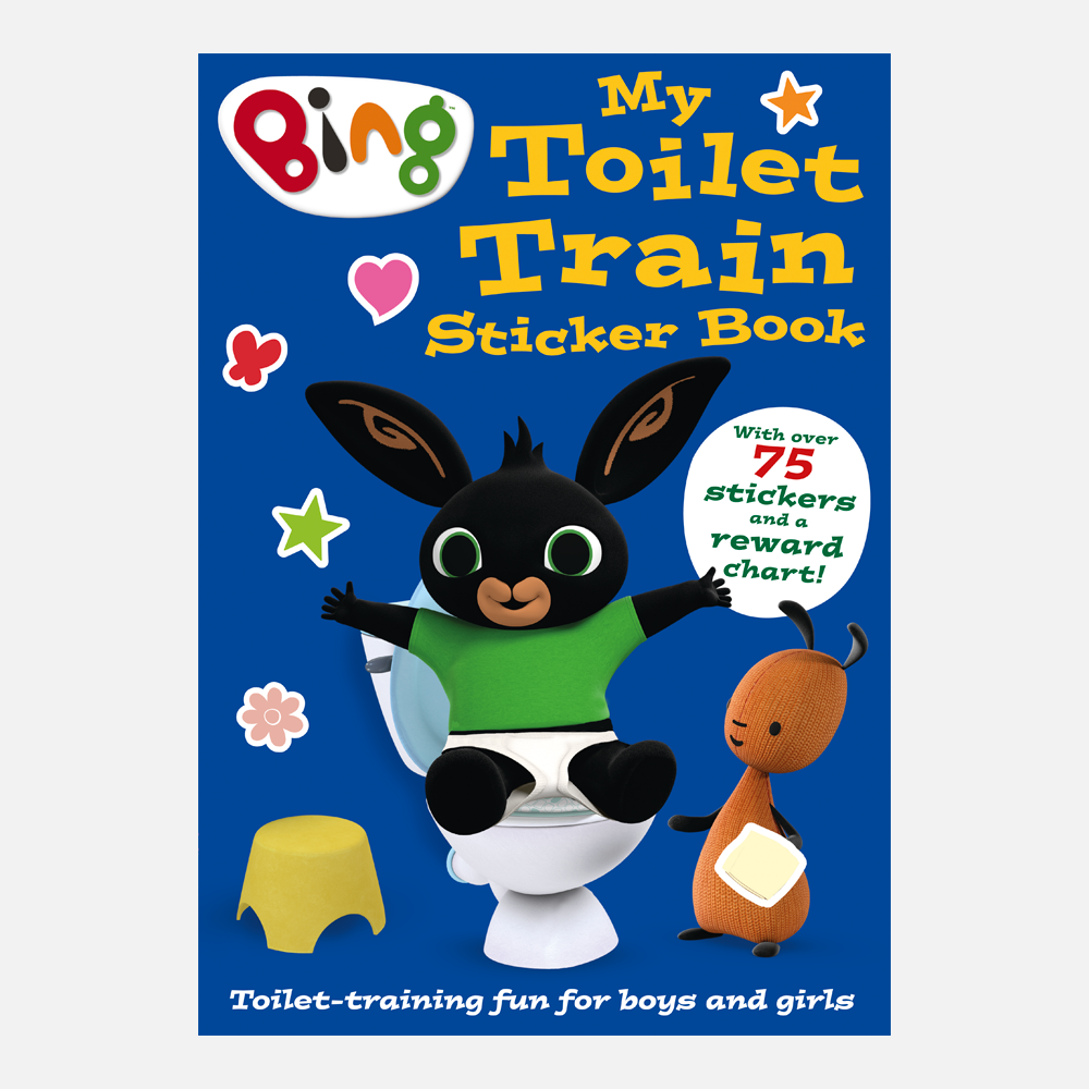 Bing My Toilet Train Sticker Book