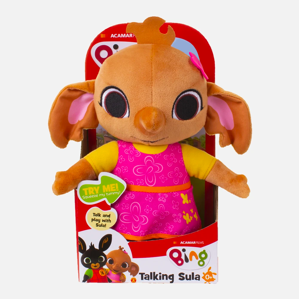 Talking Sula Soft Toy