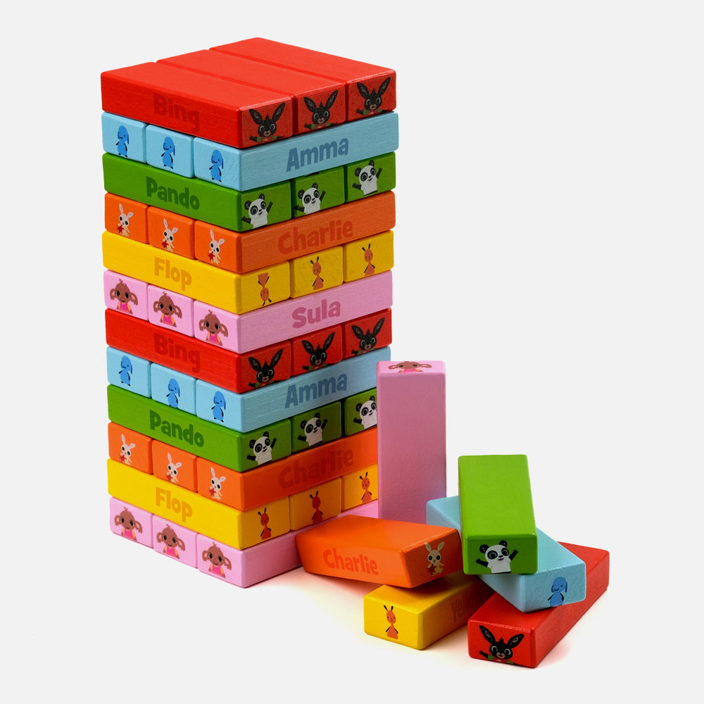 Bing Wooden Tumbling Tower Game