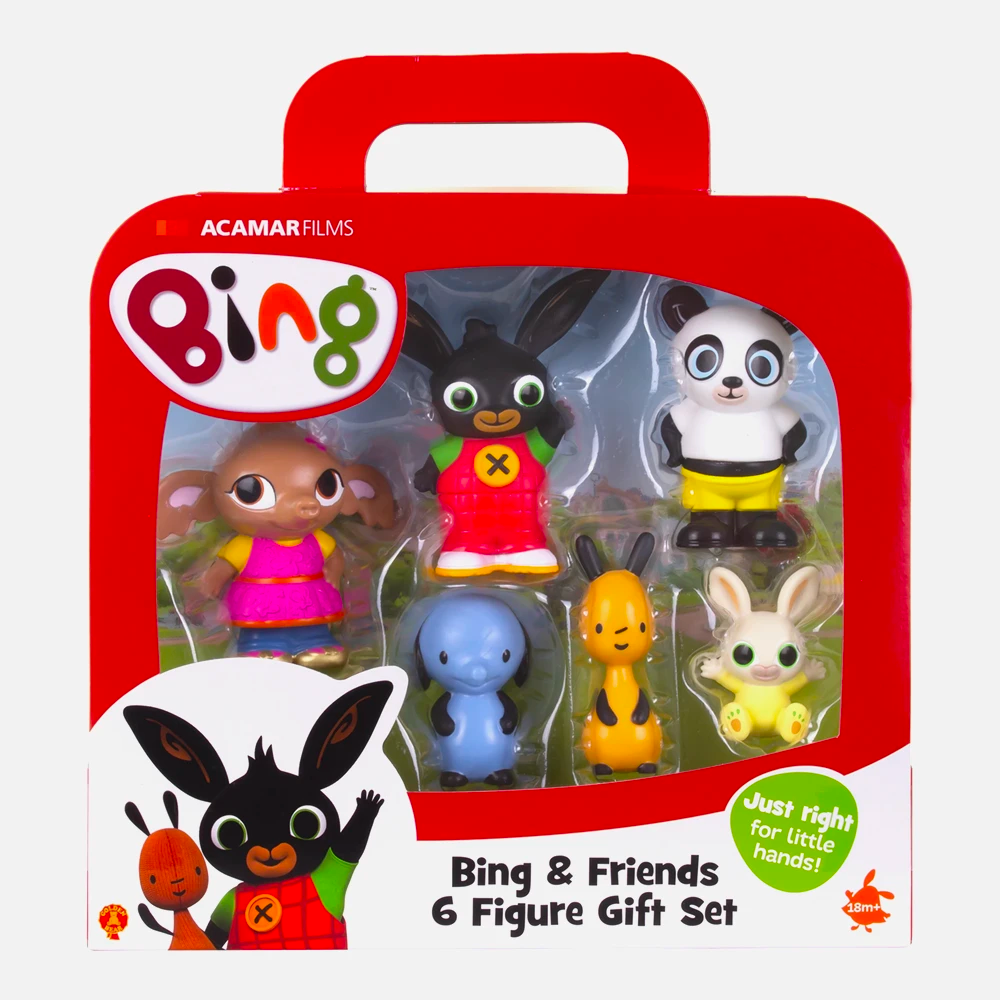 Bing & Friends 6 Figure Gift Set Toy
