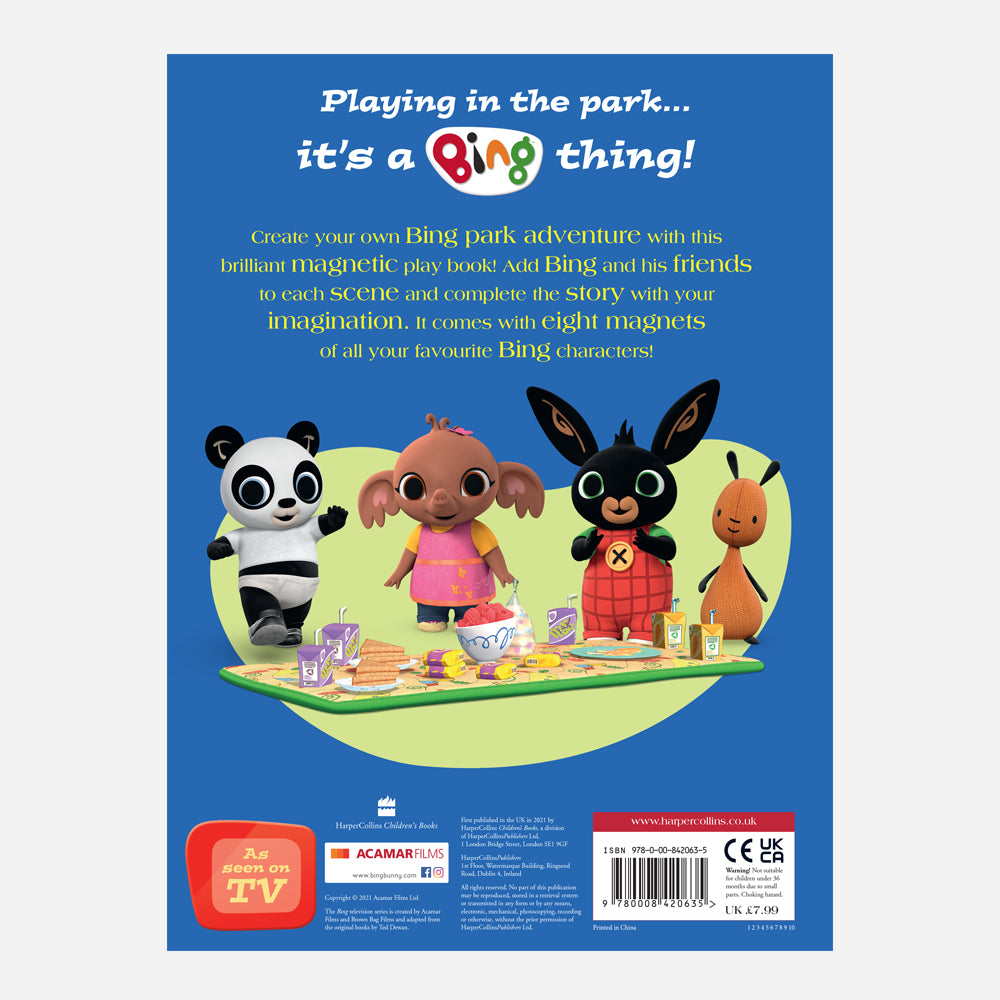 Bing Fun At The Park! Magnet Book