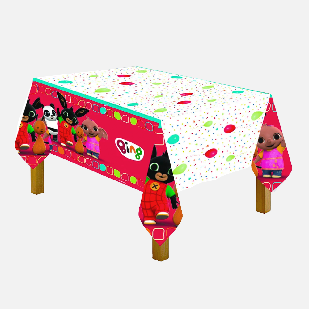 Bing Plastic Table Cover