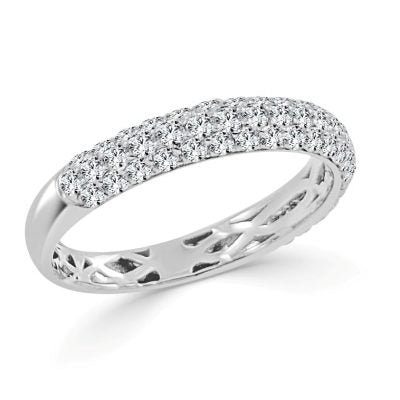 Adalyn Pave Diamond Band