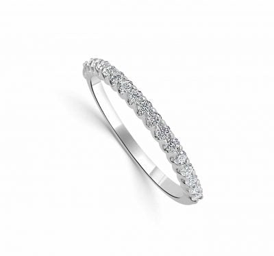 Perri Small Common Prong Diamond Band