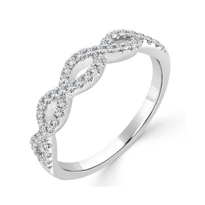 Eden Diamond Twist Band