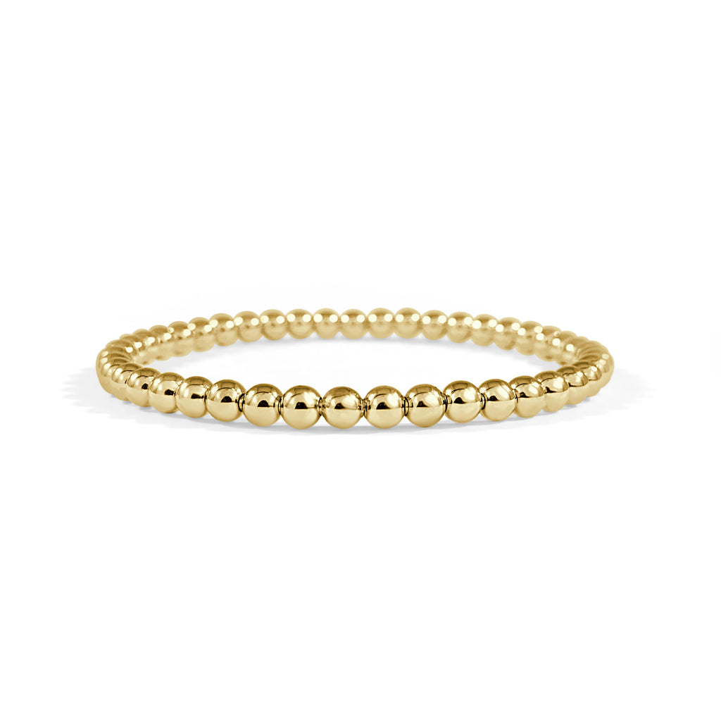 Blaire Beaded Stretch Bracelet (4mm)