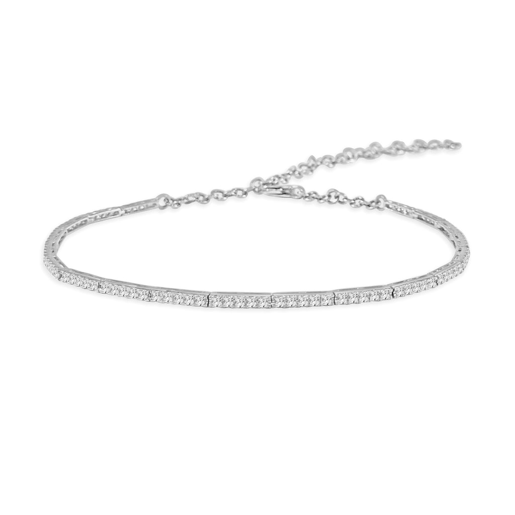 Delilah Adjustable Diamond Choker Necklace