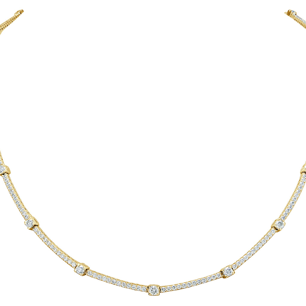 Island of Capri Diamond Rope Necklace