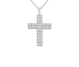 Mercy Diamond Cross Necklace