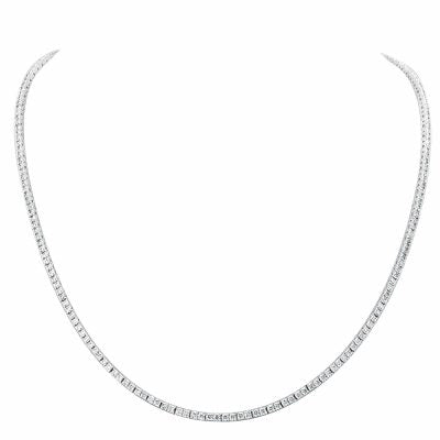 Zuri Diamond Tennis Necklace