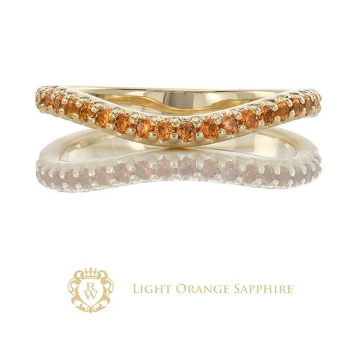 Light Orange Sapphire Enhancer
