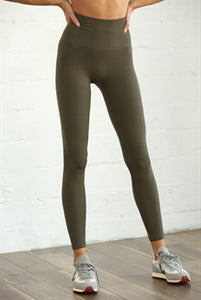 Leggings- Moss