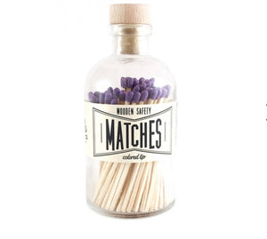 Purple Matches Vintage Apothecary