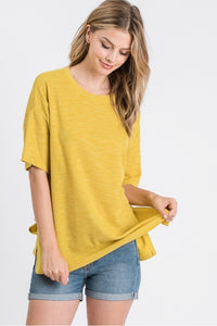 Tea Leaf 1/2 Sleeve Top
