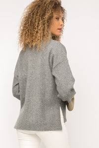 Two Tone Cozy Sweater