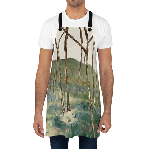 "Apron - ""Wintergreen Woods"""