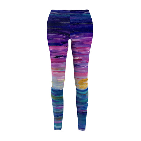 "Women's Leggings - ""Sunset One"""
