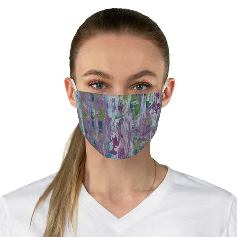 "Fabric Face Mask - ""In Between"""