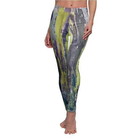 "Women's Leggings - ""Emerald City"" EC-V3"