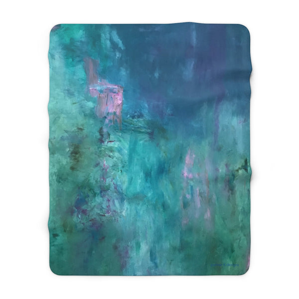 "Sherpa Fleece Blanket - ""Stairway to Heaven"""