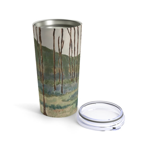 "Tumbler 20oz - ""Wintergreen Woods"""