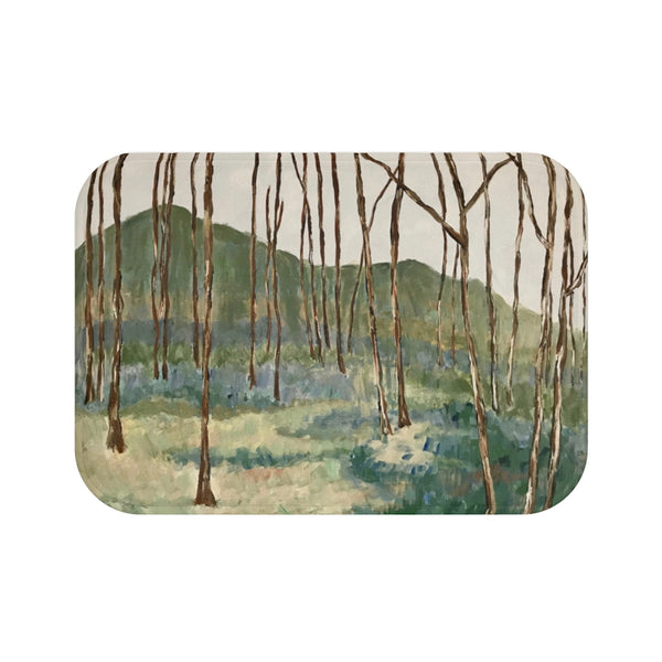 "Bath Mat - ""Wintergreen Woods"""
