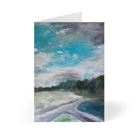 "Greeting Cards (8 pcs) - ""Two Roads"""