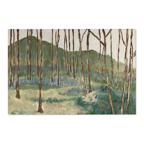 "Area Rug - ""Wintergreen Woods"""