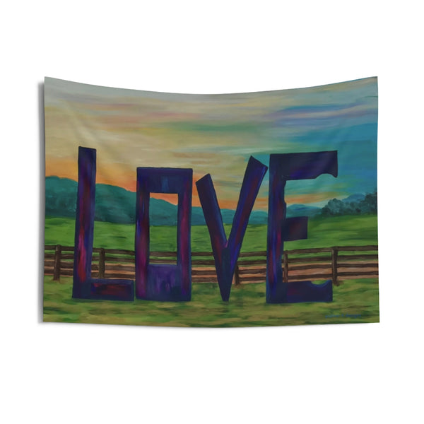"Indoor Wall Tapestry - ""Lock in Love"""