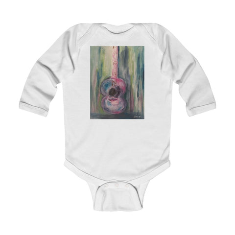 "Infant Long Sleeve Bodysuit - ""I'm Just a Girl"""