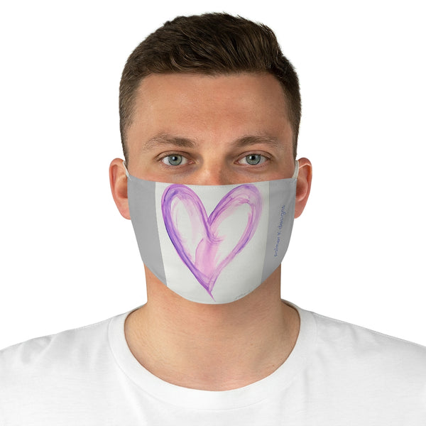 "Fabric Face Mask - ""Swept Away"""