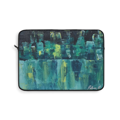 "Laptop Sleeve - ""Emerald Nights"""
