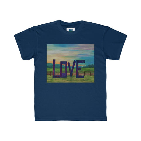 "Kids Regular Fit Tee - ""Lock in Love"""