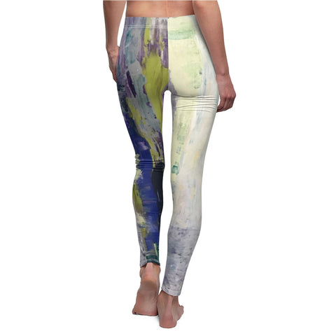 "Women's Leggings - ""Emerald City"" EC-V2"