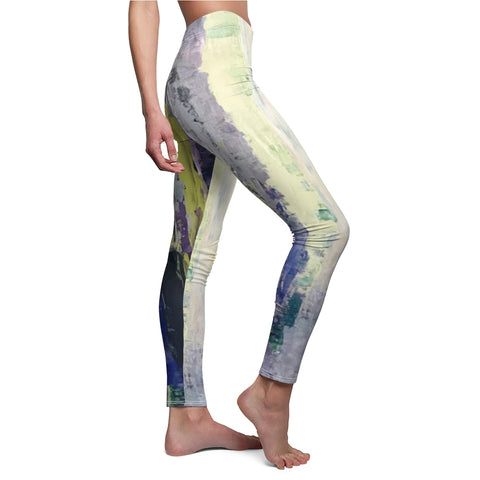"Women's Leggings - ""Emerald City""  EC-V1"