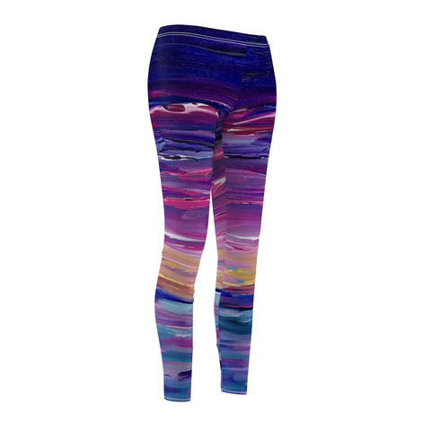 "Women's Leggings - ""Sunset Two"""