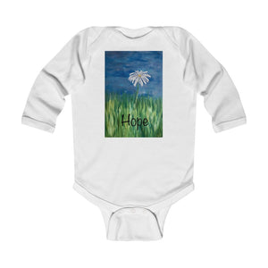 "Infant Long Sleeve Bodysuit - ""Hope"""