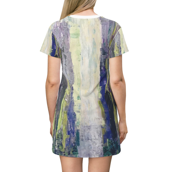 "T-Shirt Dress - ""Emerald City"""