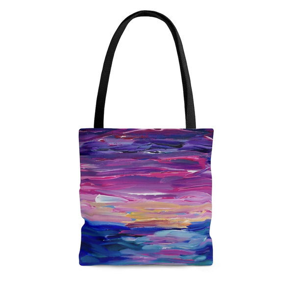 "AOP Tote Bag - ""Sunset Two"""