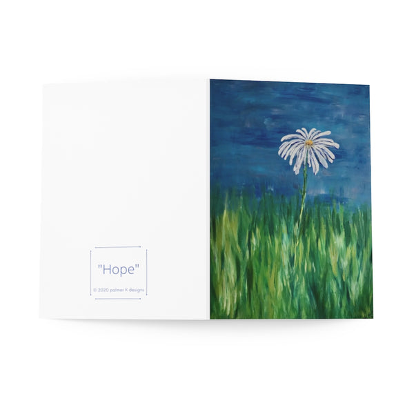 "Greeting Cards (8 pcs) - ""Hope"""