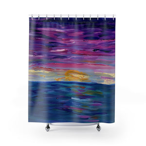 "Shower Curtain - ""Sunset One"""