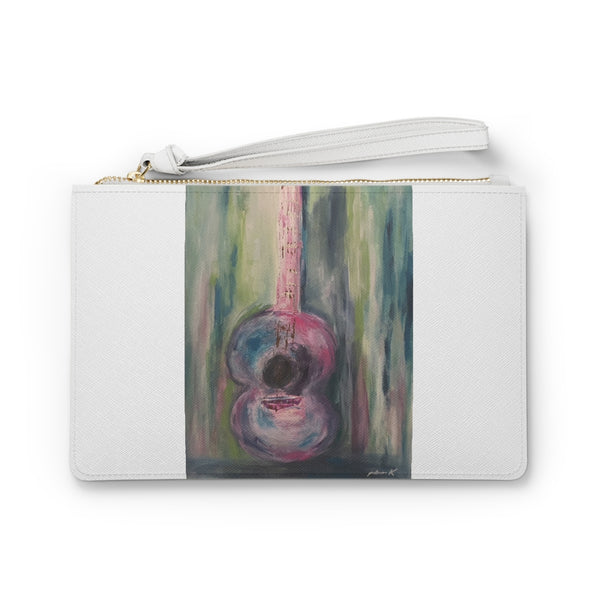 "Clutch Bag - ""I'm Just a Girl"" (white)"