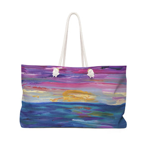 "Weekender Bag - ""Sunset One"""